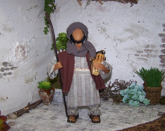 "Biblical narrative figure ""Hirte"""