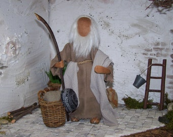 "Biblical Narrative Figure , ""Moses/Abraham"""