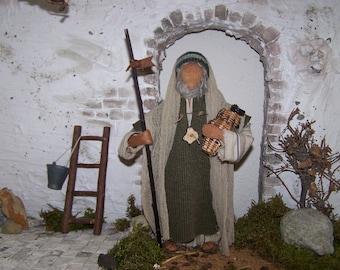 "Biblical narrative figure ""Older Man"""