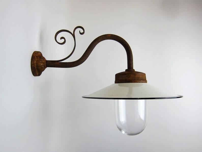 Lampada da parete lampada da cortile classico per la etsy