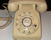 Vintage Rotary Telephone, Phone.