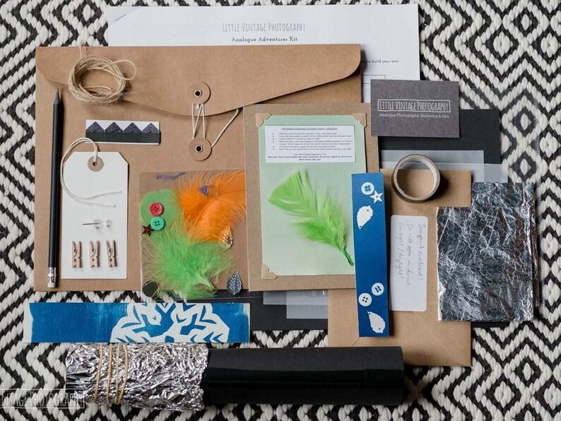 Analogue Adventurer Kit  Make-your-own pinhole viewer & image 0