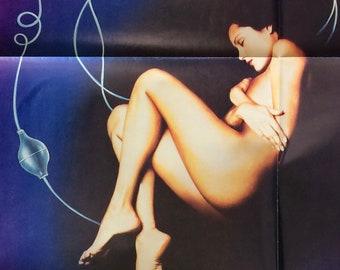 Embryo 1976 Original Theatrical Movie Poster Vintage 70s Seventies Clone Horror SciFi Rock Hudson Diane Ladd Barbara Carrera Roddy McDowall