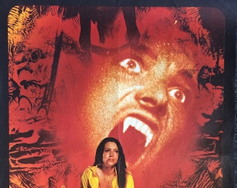 Vampire Circus Original French Affiche Theatrical Movie Poster Vintage Seventies Hammer Horror Lynne Frederick Adrienne Corri Grand Guignol
