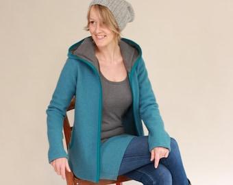 Walk Jacket, Women's Walk Coat, Women's Overgoose Jacket, In Many Colors, Nora