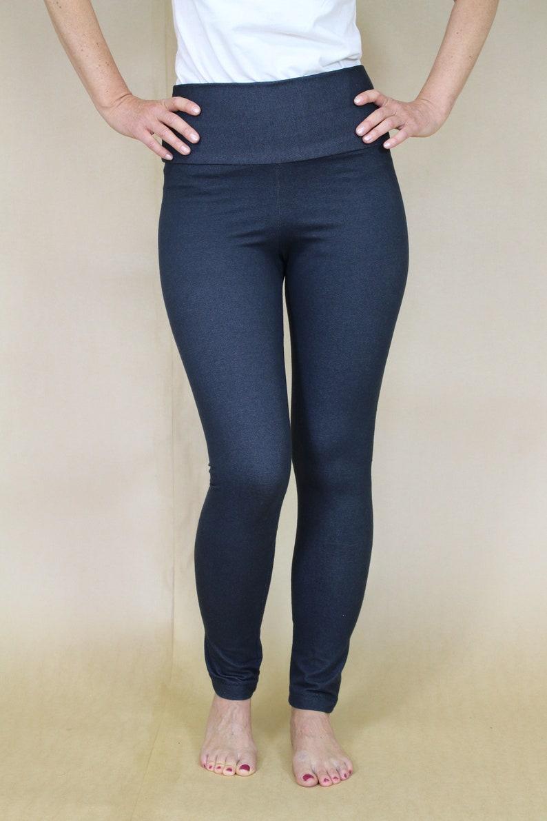Dene-skinny leggings in 2 colours image 0