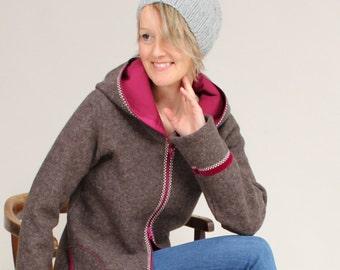 Walk jacket, walk coat, wool coat, women's transition jacket, women's transition coat