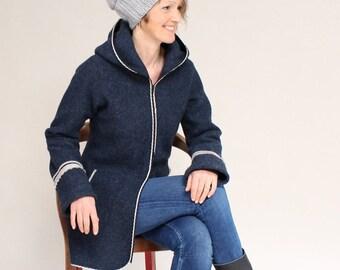 Walk jacket, Walk coat, Wool coat, Women's Transition Jacket, Women's Transition Coat, Frauke