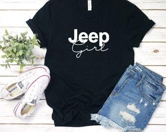 0e146978f Jeep Girl FREE SHIPPING / shirt / shirts / t shirt / t shirts / women shirt  / women fashion / women t shirt / fashion shirt / unique gifts