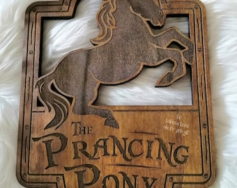 The Lord of the Rings,The prancing pony, the dashing pony