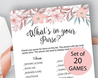 floral bridal shower games bundle games bundle bridal shower bundle 20 bridal shower games package fun bridal shower activities