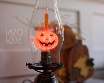 Jack-O-Lantern [Vintage – Retro – Halloween Decor – Pumpkin Bubble Light]