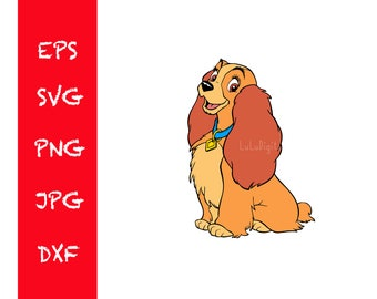 Lady And The Tramp Svg Etsy