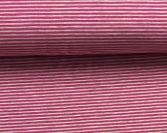 Jersey Striped Pink Mottled