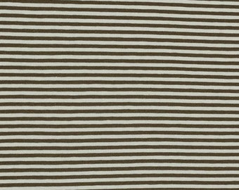Jersey Striped Brown Beige