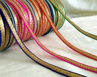 Fancy Decorative Cord Twine Rope Trim Metallic Purple | Etsy