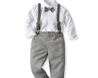 ring bearer outfit black