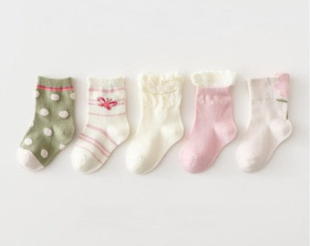 One Size 0-3m NeU ewers Newborn Socken BORN IN 2021 Baby Mädchen Barbierosa Gr