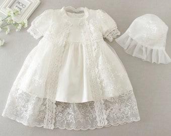 453683d1d560f Lace baptism dress | Etsy