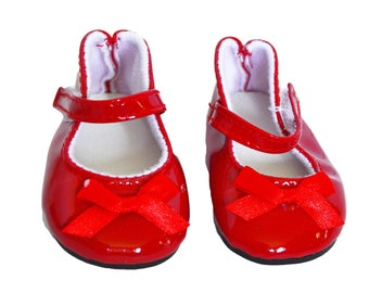 "Red Studded Strap Shoes Sandals Fits 18/"" American Girl Doll Clothes"