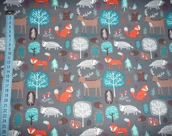 nordisch skandinavisch Natur DIN A4 Kunstdruck Poster FOREST 05 -ungerahmt- Wald V/ögel Tannen Landschaft