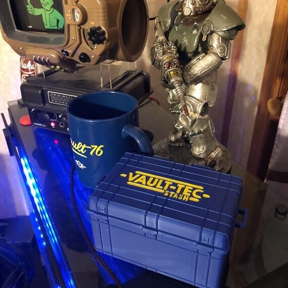 Officiel Bethesda-Fallout 76 Vault-Tec Vault 76 Bleu Sweat À Capuche Pull