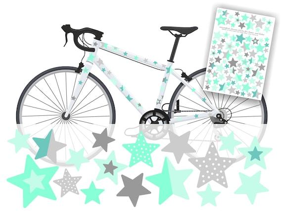 Star Bike Sticker Bicycle Sticker Bicycle Sticker Bike Etsy