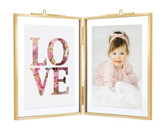 Double Hinged Frame Etsy
