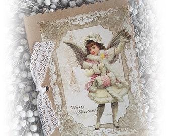017 Pretty Greeting Card/Christmas Card 017