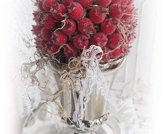 Berry Beauty in the Silver Cup