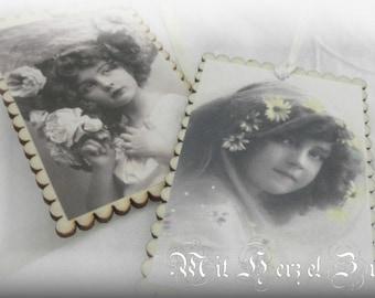 Vintage Gift Tags/Tags/Wood