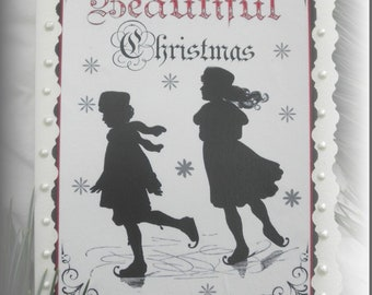 024 Vintage Card Christmas Card 024