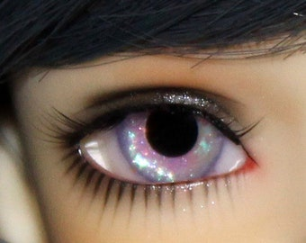 88c324c1401 Lavender and blue color shifting resin doll eyes, pair