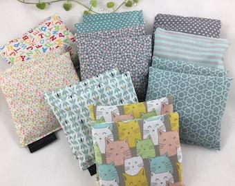 set of 2 small grain pillows,hand warmers,pocket warmers,baby pillows,heat pillows,cold pillows,