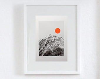 """philuko print """"sunrise"""" collage"""