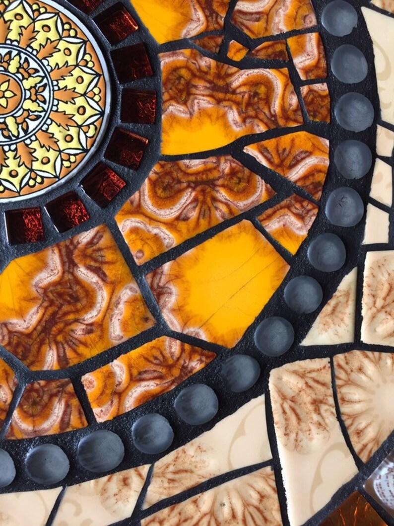 Mosaik Tisch Garten Beistelltisch Bistrotisch Etsy