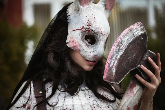 Made To Order Dead By Daylight Inspire Huntress Mask Anna Etsy