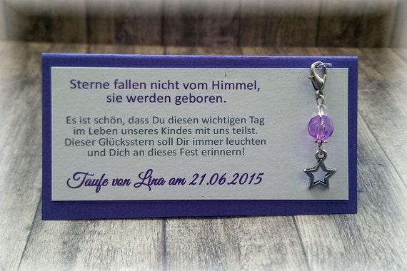 Gastgeschenk Tischkarte Tischdeko Deko Schmetterling Taufe Kommunion Konfirmation Jugendweihe flieder