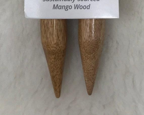 LYKKE  Mango Wood 36-Inch Fixed Circular Knitting Needles - US50/25mm
