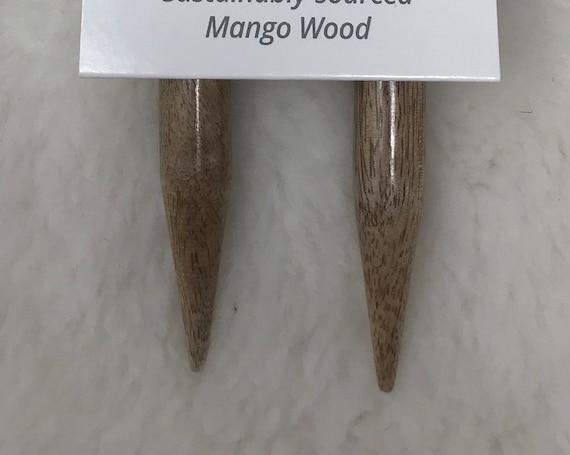 LYKKE  Mango Wood 36-Inch Fixed Circular Knitting Needles - US19/15mm