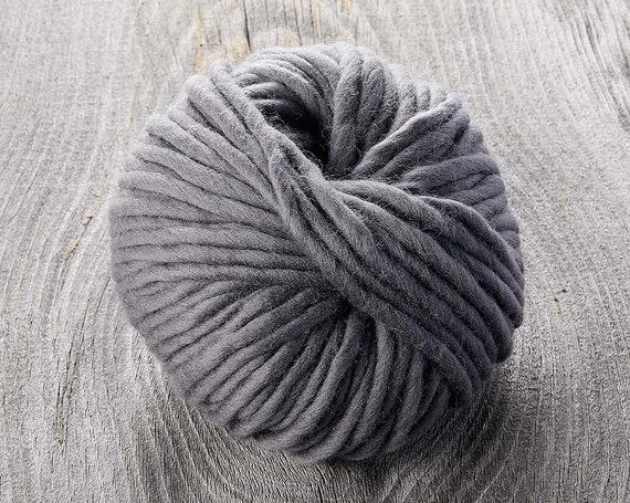 Sugarbush - Chill - HUDSON'S GREY - Extra Fine Superwash Merino Wool - Bulky Yarn