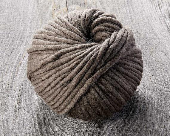 Sugarbush - Chill - BISON - Extra Fine Superwash Merino Wool - Bulky Yarn
