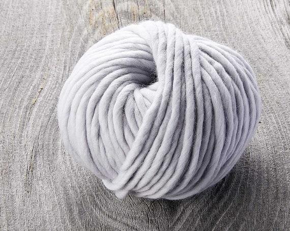Sugarbush - Chill - GREY RIVER - Extra Fine Superwash Merino Wool - Bulky Yarn