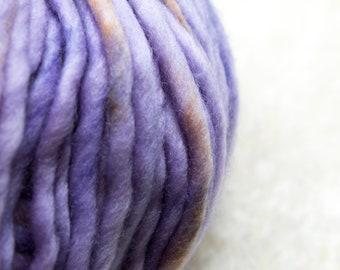 DHG - Piuma - SAFFRON CROCUS - Super Fine Merino - Bulky Yarn, Thick Yarn, Quick Knit, Textured Stitches, Hand Dyed Yarn, Mulesing Free