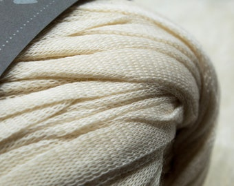 DHG - Stromboli - ACACIA - Cotton Tape - Super Bulky Yarn, Thick Yarn, Quick Knit, Textured Stitches