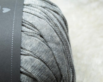 DHG - Stromboli - WOLF - Cotton Tape - Super Bulky Yarn, Thick Yarn, Quick Knit, Textured Stitches