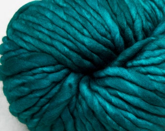 PREORDER:  Super Bulky Yarn, Malabrigo Rasta - Teal Feather