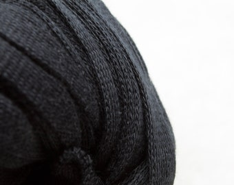 DHG - Stromboli - Dark - Cotton Tape - Super Bulky Yarn, Thick Yarn, Quick Knit, Textured Stitches