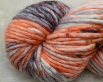 Baah Yarn Sequoia - Silver Lady - Super Bulky - 100% Superwash Merino Wool - 85 yards - 125 grams - Artisanal Hand Dyed