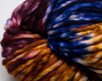 Malabrigo - Rasta PINTADA - XILOFONO - Merino Super Bulky Yarn, Thick Yarn, Quick Knit, Textured Stitches, Hand Dyed Yarn, Mulesing Free